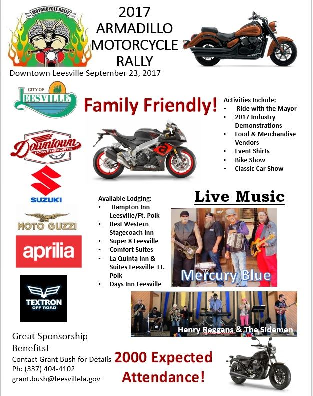 New bike rally flyer